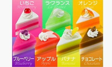 7種類の香りが選べるケーキ石鹸