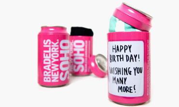 センスを感じる誕生日プレゼント・BRADELIS New Yorkの缶に入ったパンツ