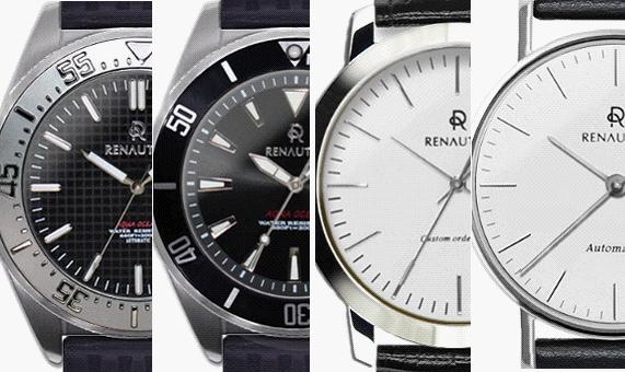 メンズカスタムオーダー腕時計