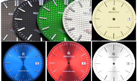 カスタムオーダー腕時計の文字盤
