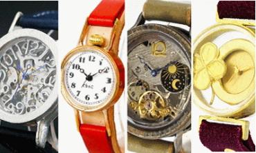 世界に一つの誕生日プレゼント・手作り腕時計
