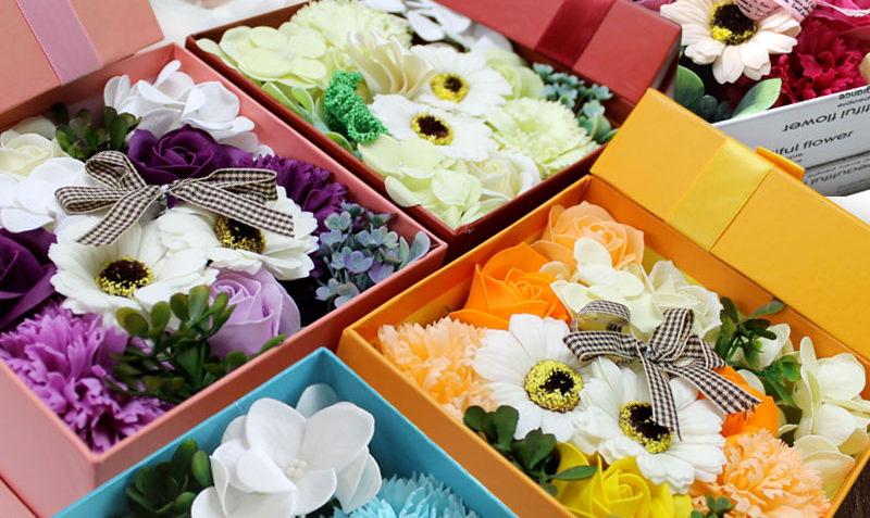 誕生日プレゼント・花のバスフレグランス