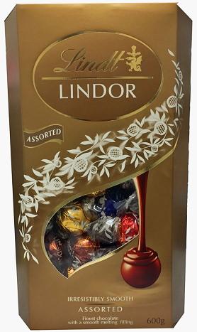 センスを感じる誕生日プレゼントはリンツのチョコレート