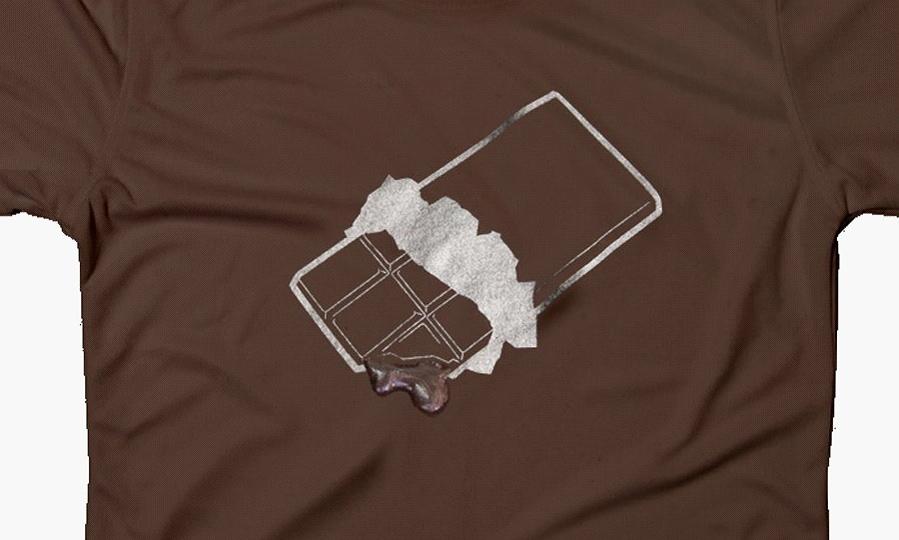オシャレTシャツ/ チョコレート